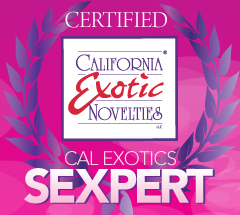 I'm a cal exotics sexpert Reviewing sex toys for California Exotics