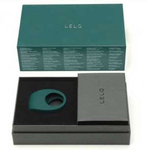 LELO Tor 2 waterproof rechargeable cockring - packaging